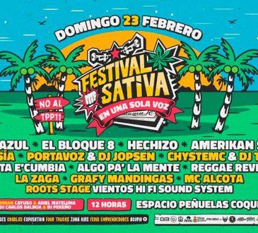 """FestivalSativa""""En una sola voz"""", el evento consciente que pondrá el sabor al verano en Coquimbo"""