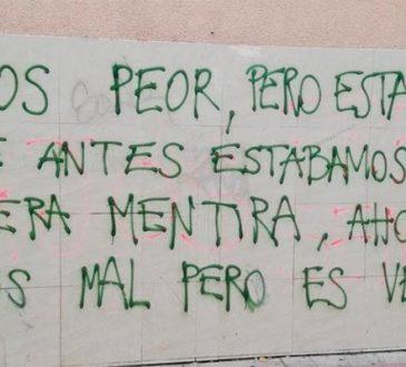 """""""AHORA ESTAMOS MAL…, PERO ES VERDAD"""""""